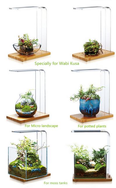 Professional Aquatic Landscaping Led Aquarium Light For Wabi Kusa ...