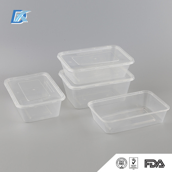 China factory Top Quality Takeaway Disposable Plastic Food Container