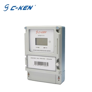 Cken High Security Connection 3 Phase 4 Wire Smart prepayment energy meter