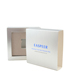 silver paperboard skincare box packaging cosmetic package paper box with lid