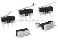simulated roller level miniature micro switch/mouse micro switch