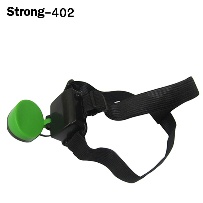 Fashion plastic COB headlamps with color head band