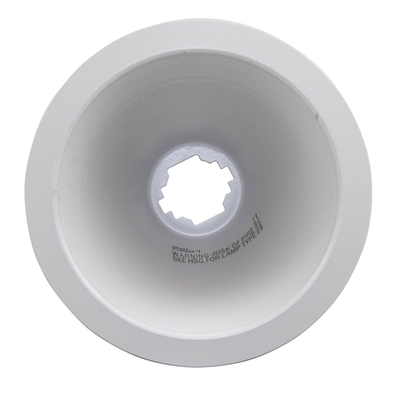 White Baffle Recessed Lighting Trim Find