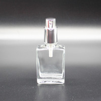30ml aroma glass bottle for perfume,50ml empty glass dropper bottle for skin care water