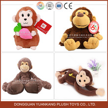 High quality stuffed toys plush monkey