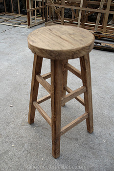 Pleasant Vintage Antique Recycle Solid Wood Bar Stool Buy Vintage Industrial Bar Stools High End Wood Bar Stools Antique Wooden Bar Stool Product On Forskolin Free Trial Chair Design Images Forskolin Free Trialorg