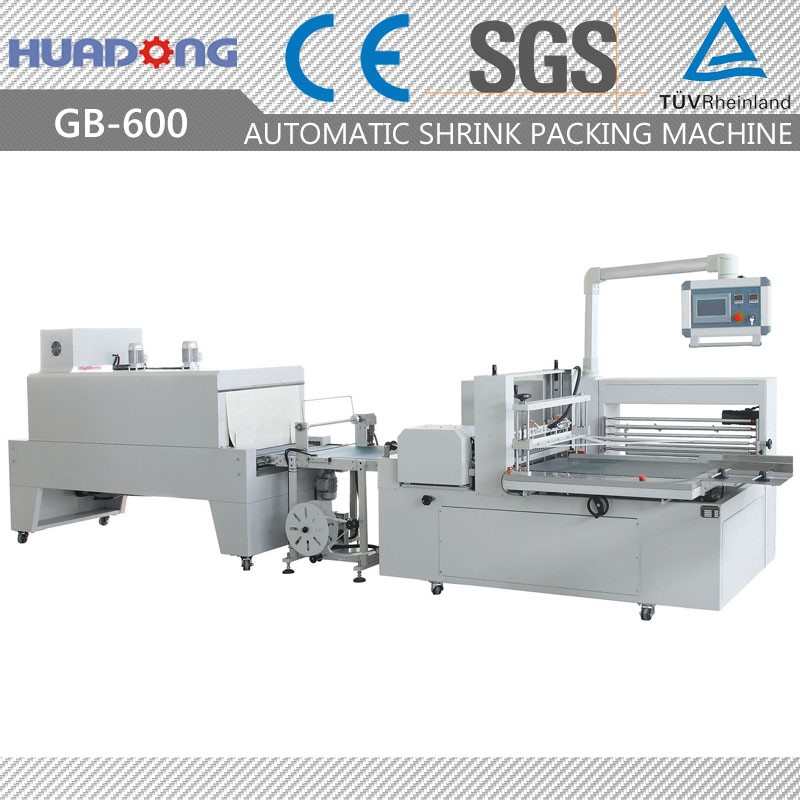 Automatic Tissue Paper Box Shrink Packing Machine Carton Shrink Packaging Machine