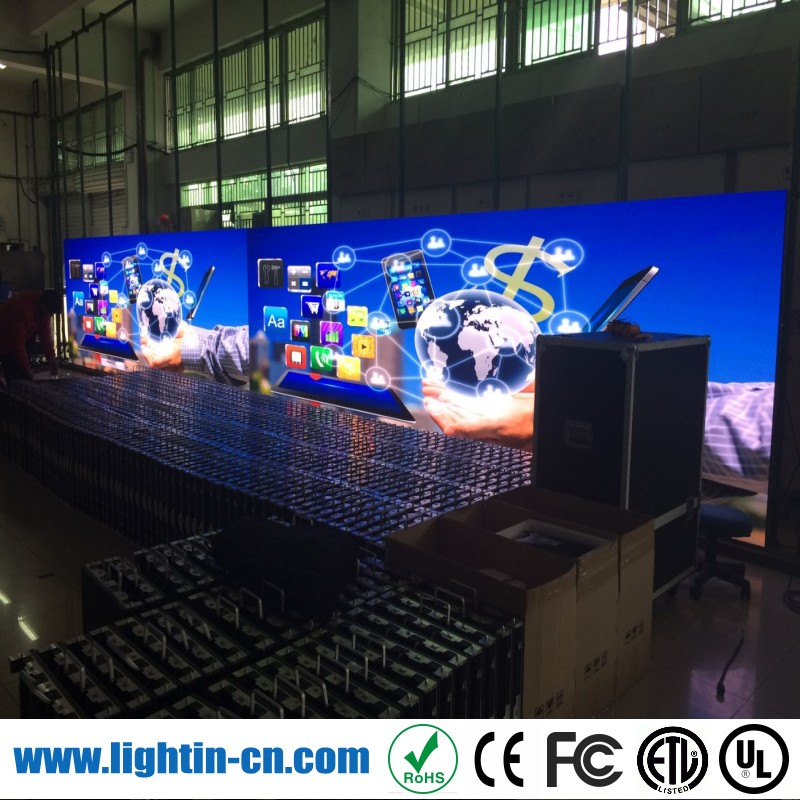 New design led advertising scrollingl display board 2015 p3 indoor smd video wall indoor