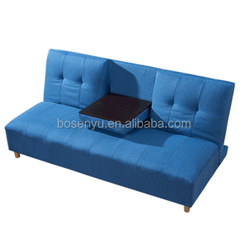 Folding New Design Sofa Bed With Tea Tray