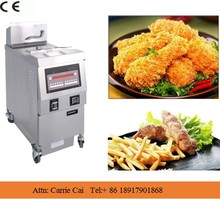 kfc fried chicken machine/ health food machine used gas deep fryer