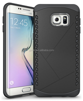 high end box attractive TPU+PC combo rugged case for galaxy s6 edge plus