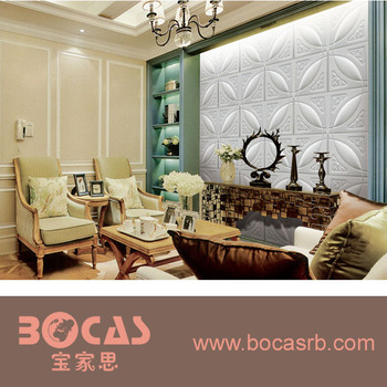 leather 3d wall panel for carving Decorative