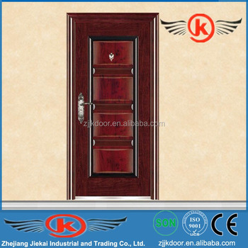 Apartment Building Door jk-s9209 safety steel apartment building entry doors for sale