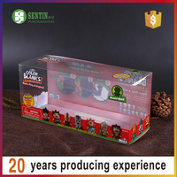 pvc box packaging clear box for gift