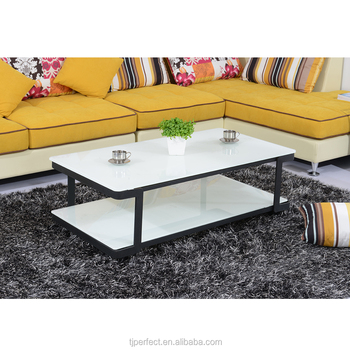 Modern Design Acrylic Glass Concise Transparent Coffee / Tea Table For  Living Room In U