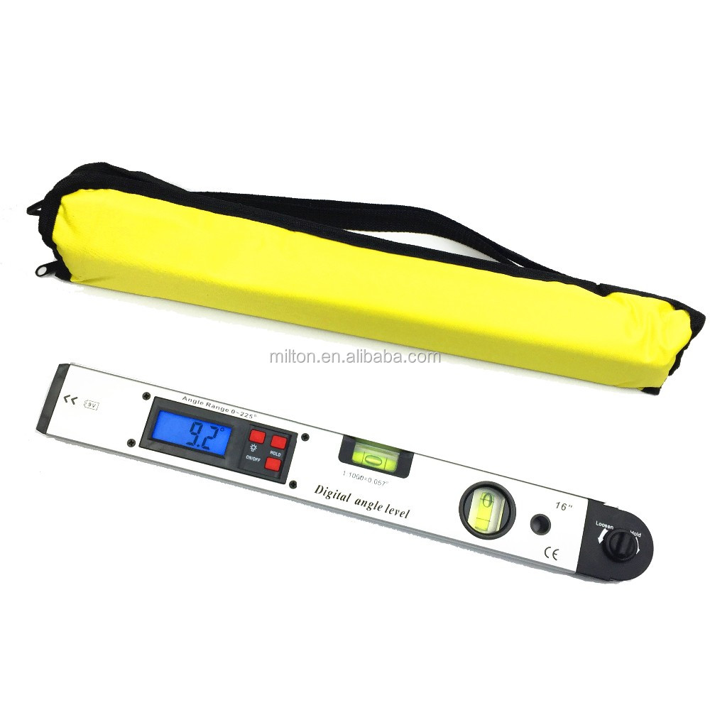 400mm 16inch Digital Protractor Digital angle level digital spirit level Angle Finder