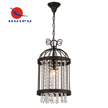 Japanese style handmade crystal pendant light for living and dining room