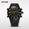 WEIDE branded watches distributors water resistance jupan quartz and silicone sport hot-sell in high quality metal watch for men