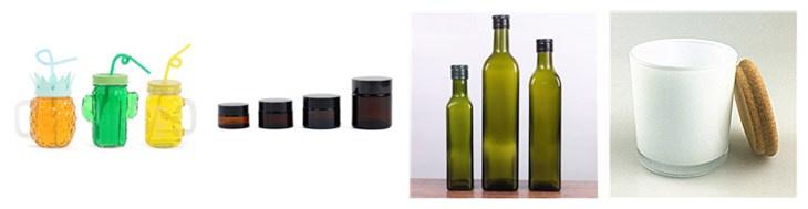 Garrafas de suco de vidro com tampa de 750 ml swing