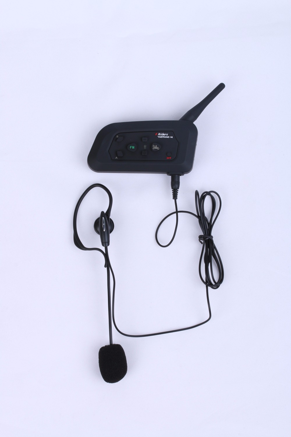 Hands-free V4C 1200m Football Sport Referee Bluetooth Communication System Intercom