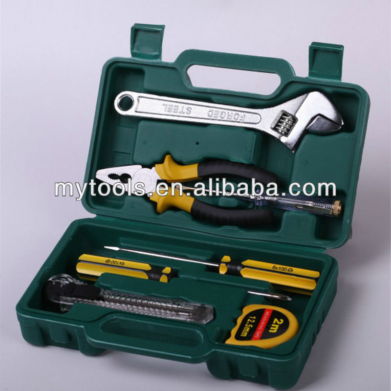 small hand tool <strong>set</strong> with tool box