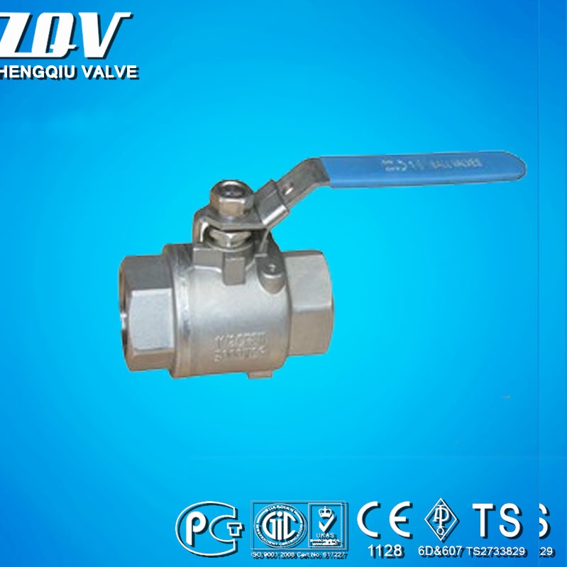 2PC Ball Valves 3000PSI Seal welded Full Bore