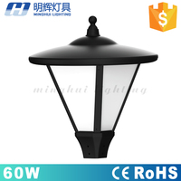 China supplier 60 watt 110lm/w led post top light for outdoor lighting