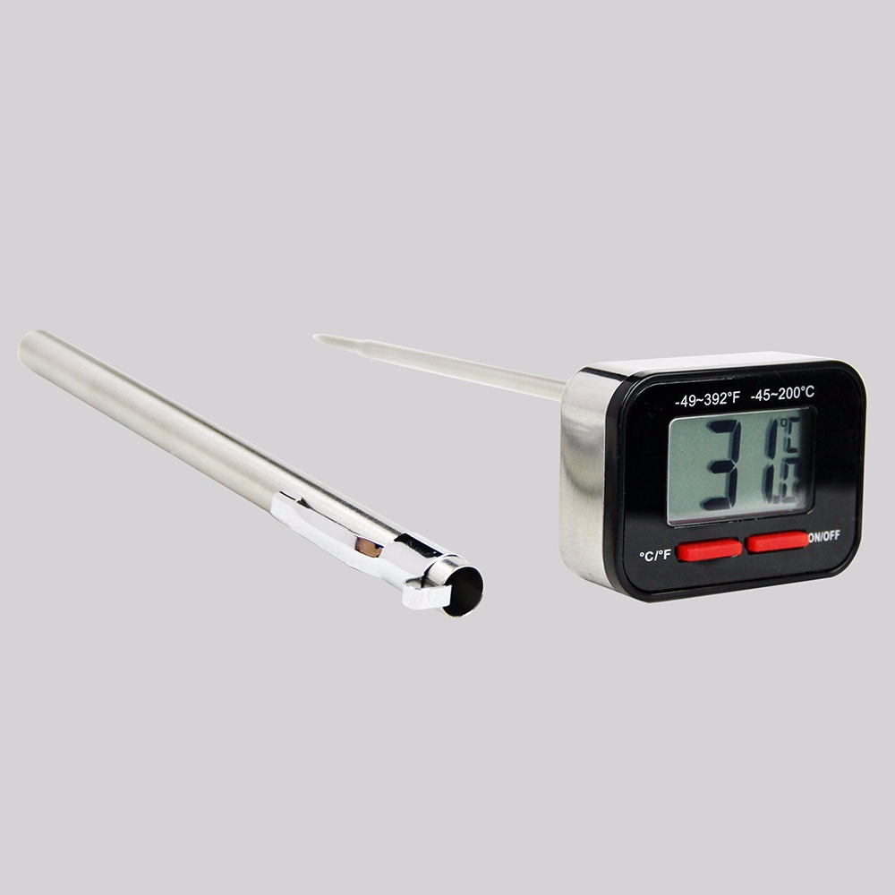 Digital High End Instant Read Stainless Steel Case Thermometer / Gadget