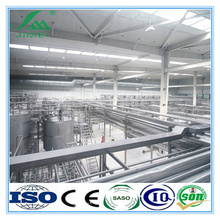 high-tech longlife aseptic dairy milk processing plant/production line machinery