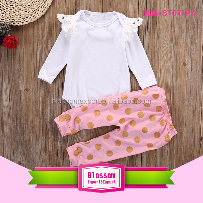 Yiwu Wholesale Kids Boutique Clothing Girls 4th Of July Summer Patriotic Ruffle Top And Pants Match Headband Outfit