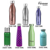 Wholesale laser engraving logo water bottle stainless steel sport bottle