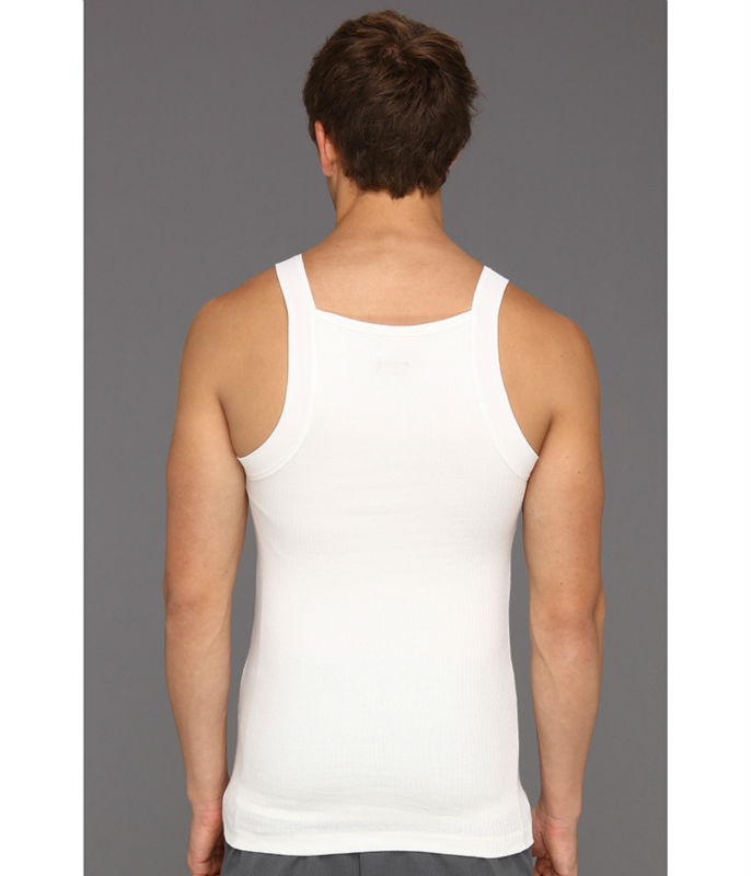 e5457f18 alibaba china wholesale plain white slim fit compression mens tank top