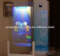 holographic screen easy install ultra-light self-adhesive rear projection for windows shop advertising,presentation show