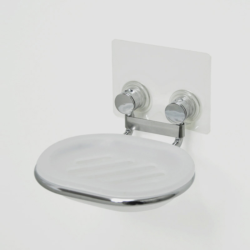 removeable adhesive bathroom shower soap dish hook