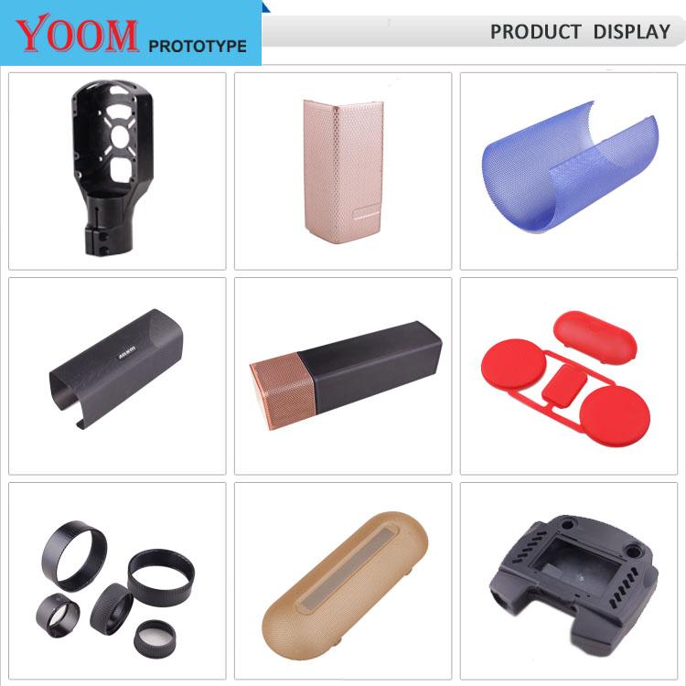 Massen Produktion Von Benutzerdefinierte ABS Kunststoff Shell CNC Bearbeitung Teile Für Schönheit Ausrüstung