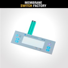 OEM factory pcb based transparent window membrane switch metal dome