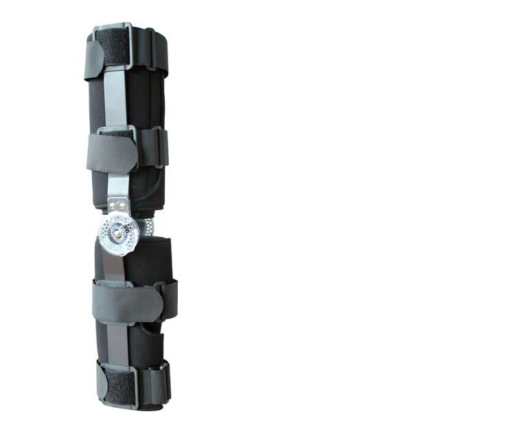 Rom Hinged knee pad/knee support/knee Stabilizer for knee rehabilitation
