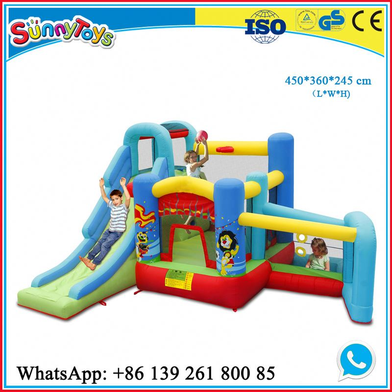 Inflatable amusement center inflatable interactive adult game for amusement park