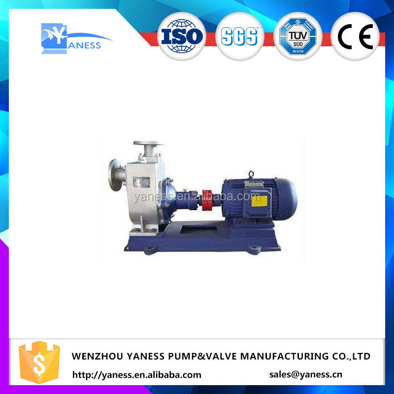 YANESS brand CYZ-A Series 8 inch Self Priming centrifugal pump installation for petroleum products