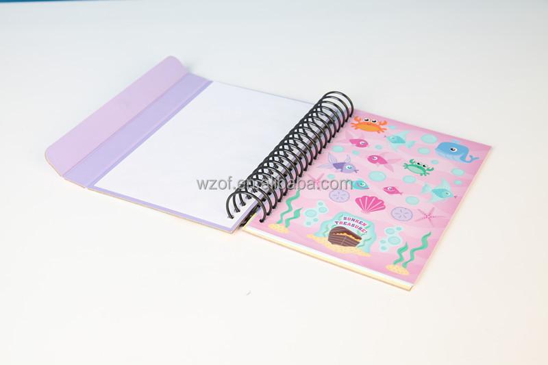 Kinder Aufkleber Buchmeerjungfrau Zeichenblockfärbung Aktivität Packtic Tac Toe Buy Product On Alibabacom