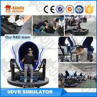 Top sale high profit 3seats 9d vr cinema with smoke effects