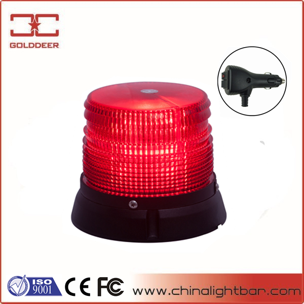 Coche flash light led rojo señal de tráfico beacon light (TBD327b)