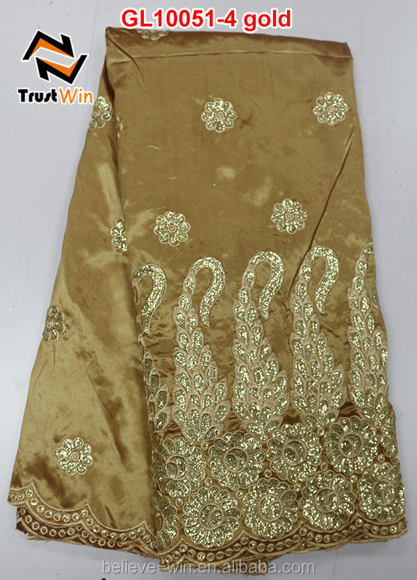 2015 reasonable price african george clothing of GL10051 gold