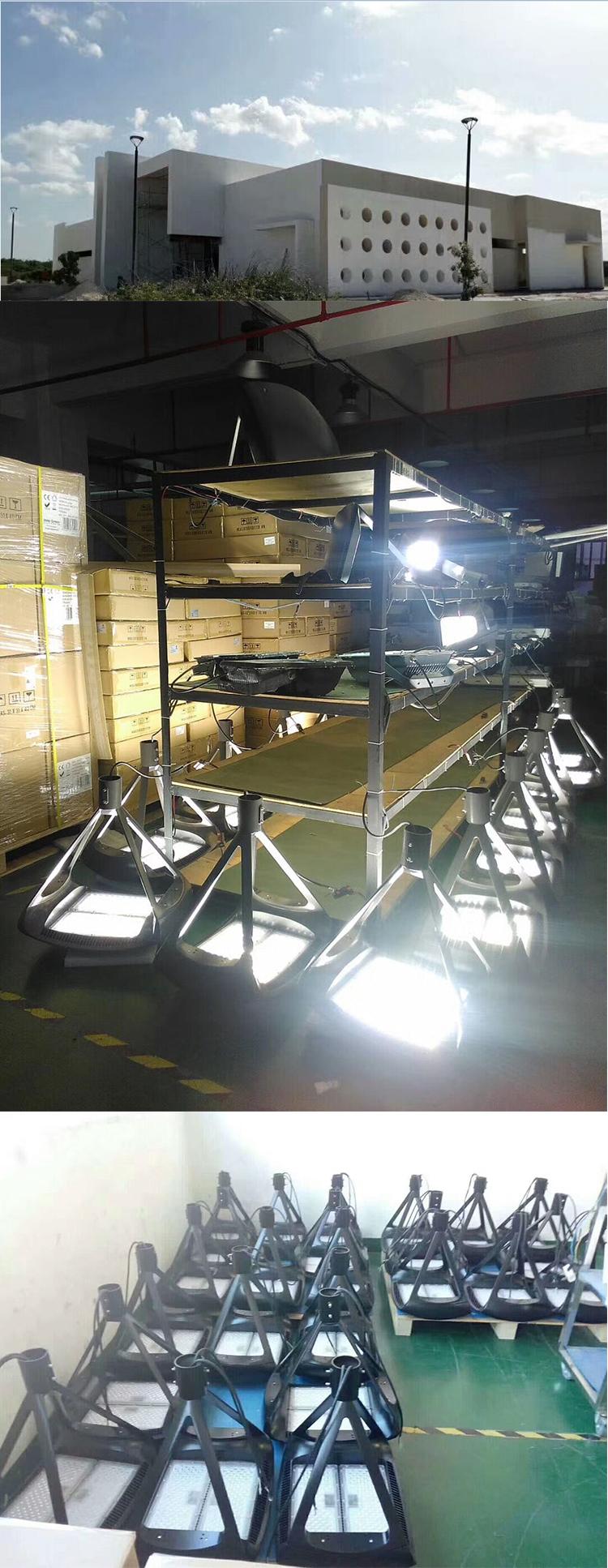 La iluminación de la calle de 1000 vatios de 480 voltios 150 vatios 300 W puesto de estacionamiento de luz LED