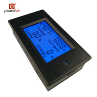 PZEM DC 6.5-100V 0-50A/0-100A Optional Voltage Current Power Energy Digital Voltmeter Ammeter