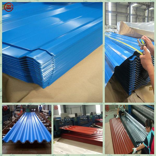 0.7mm Thick Aluminum Zinc Roofing Sheet