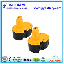 14.4V Ni-MH/Ni-CD rechargerable power tool battery DC9091
