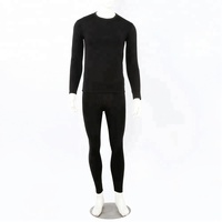 100% cotton custom long johns set mens thermal underwear