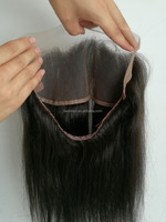 China alibaba best selling products cash on delivery from china dropshipping natural color 360 lace frontal closure