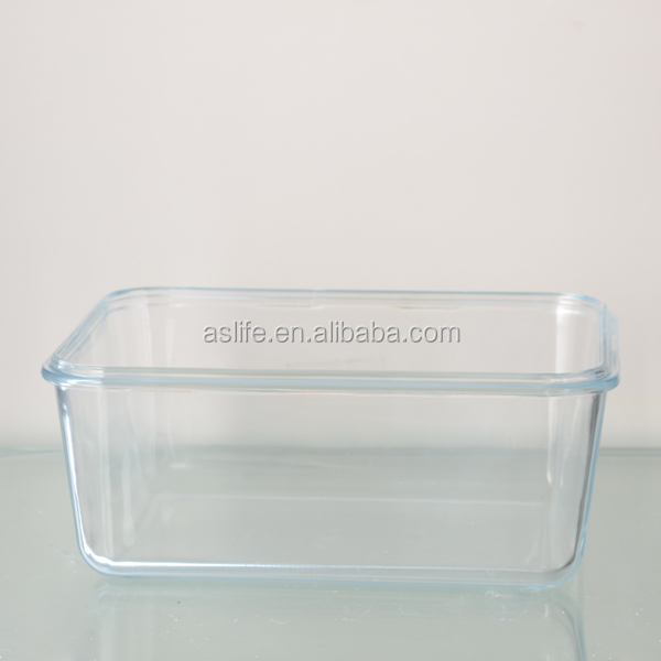ass1159)rectangle Shape 1l Glass Food Storage Containers!borosil ...